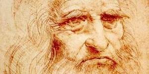 [image: Da Vinci's face]
